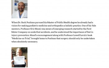 Podiatric Medicine and Orthopedics as Public Health Prevention > Support the School | Yale School of Public Health_Page_1